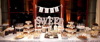 Dessert And Candy Tables