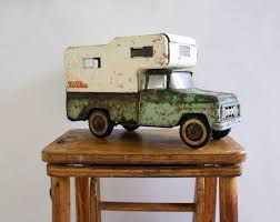 Vintage Tonka Pick Up Truck With Camper | Vintage | Tonka Toys ...
