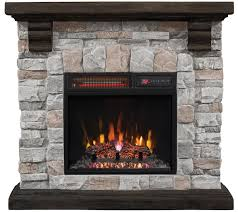 Menards Christmas Tree Storage Bags by Duraflame Infrared Quartz Stone Mantel Heater With Flame Effect