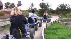 Omaha Pumpkin Patch by Vala U0027s Pumpkin Patch Pedal Cart Race Youtube