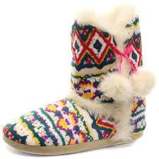 dunlop dlh7885 julia womens slipper boots amazon co uk shoes u0026 bags