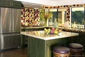 Yellow And Red Kitchen Ideas Photo