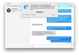 CIO Asia How to send and receive texts in Mac OS X El Capitan