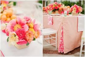 Cheap Wedding Decorations That Look Expensive by Download Orange And Pink Wedding Decorations Wedding Corners