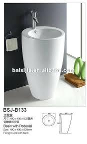 Floor Mounted Mop Sink Dimensions by Bathroom Wholesale White Pedestal Basins Floor Mounted Bathroom
