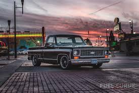 100 1974 Chevrolet Truck Blackie Travis Noacks Chevy Cheyenne Super 10 Fuel Curve