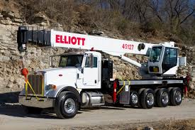 Elliott Adds 45-Ton Boom Truck To Product Line