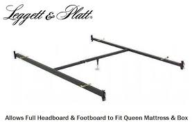 Full Headboard Footboard to Queen Bed Conversion Hook In Bed Frame