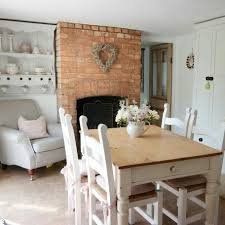 Endearing Country Cottage Dining Room Design Ideas 17 Best About Fireplace On Pinterest Double