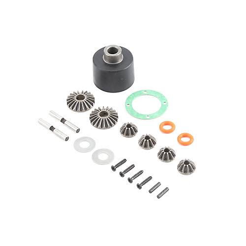 Baja Rey LOS232004 Losi HD Diff Housing and Internals