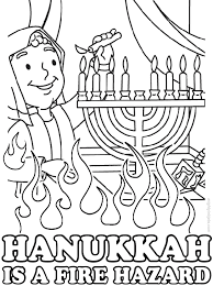 Happy Hanukkah Coloring Pages Free To Print