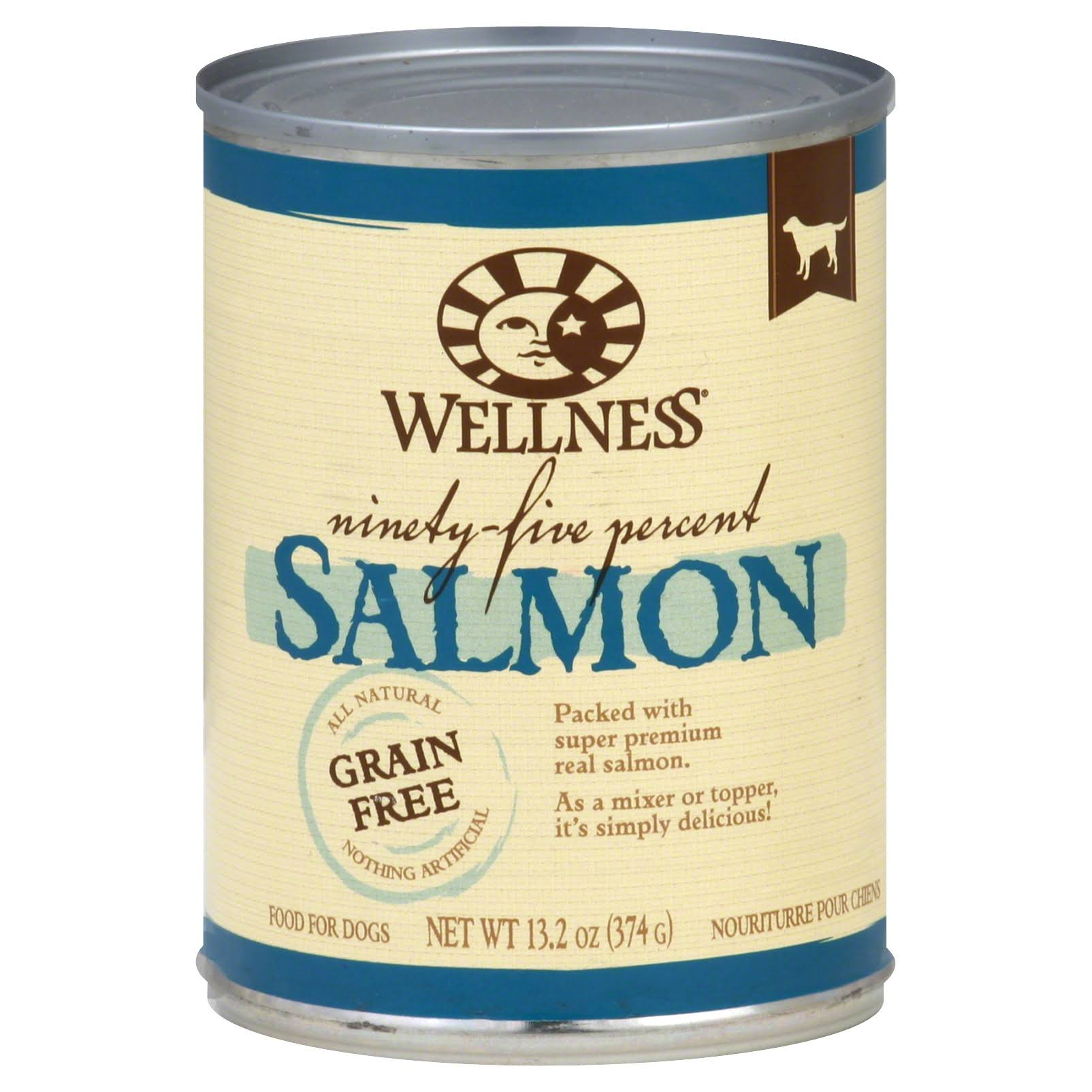 Wellness Natural Grain Free Wet Canned Dog Food - Salmon