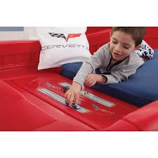 Corvette Toddler Bed by Step2 Corvette Twin Car Bed Reviews Wayfair Loversiq