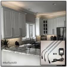 linkable led kitchen cabinet lighting kit with built in