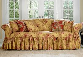 Sure Fit Scroll T Cushion Sofa Slipcover by Sofa Slipcovers Sure Fit Home Decor