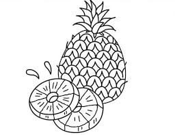 10 Best Fruits Coloring Pages Images On Pinterest
