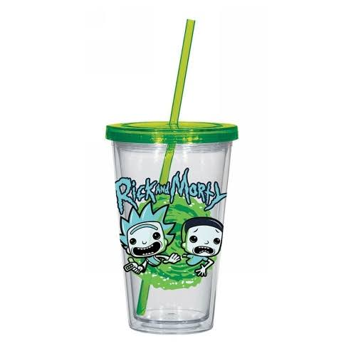 Rick and Morty Travel Cup - 16 oz