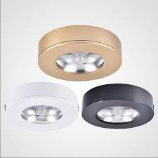 7w dimmable led puck light 110v220v ultra thin led