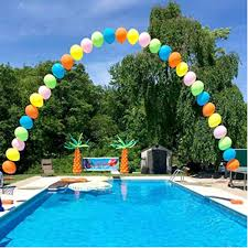 Asewin Balloon Decorating Strip Tape 17Ft Long To Make Arch Garland Steamer For Birthday Wedding Baby Shower Party Decorations