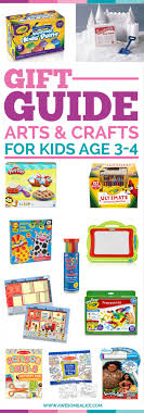 Age 3 4 Arts Crafts Gift Guide For Kids