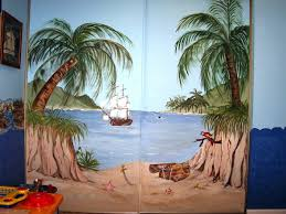 Wall Mural Decals Beach by Ritzy Colorful Wall Murals Together With Summer Wall Murals In