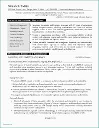 Sample Resume Logistics Management Specialist Objective Examples