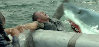 trailer nic cage vs sharks in not quite jaws prequel uss