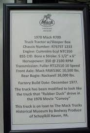 1978 Mack R-767ST Salute To The Rubber Duck - Antique And Classic ... Mack Rs700 Rubber Duck Only 127 Update Truck Mod Ets2 Mod Meet Anthony Fox Owncaretaker Of This Original Rubber Duck 1970 Lego Ideas Product Ideas Convoy Rs 700 Ats 16x American Mack Rl700 124 Scale Models Truck Pinterest Pin By Peter Janowski On Automobile Models Lego Tshirt Andy Mullins A Pile Ducks Lie A During The City Festival Bunter 1978 R767st Salute To Antique And Classic Vintage Ertl Trucks World Die Cast Tanker