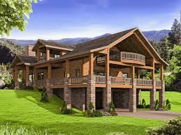 100 Contemporary Lodge Astonishing Small Mountain House Plans M Rustic Cabin Blue