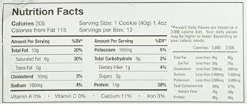 Power Crunch High Protein Energy Snack Cookies Creme 14 Ounce