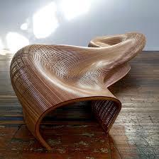 Matthias Pliessnig Curved Wood Bench BenchesFurniture DesignFurniture