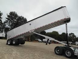 100 End Dump Truck 2005 MAC Trailer 40 FRAMELESS 40x96 Aluminum Frameless