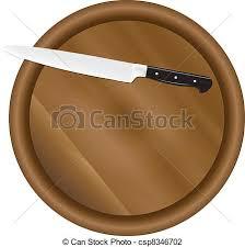 planche cuisine planche cuisine knife vecteur illustration cuisine