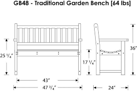 Dimensions Of Bench