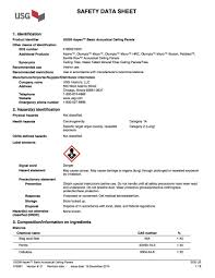 msds sheets carpentry