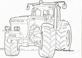 Coloriage Moissonneuse Tracteur Tom Study42org