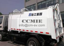 100 Waste Management Garbage Truck Self Compress Side Loading Hydraulic System
