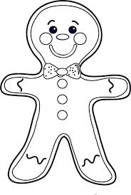 Extremely Creative Gingerbread Man Coloring Pages Download Color Sheet Cheeky Mr Men On Christmas Page