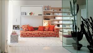 canap avec biblioth que int gr e lit escamotable modèle atoll esprit rangement