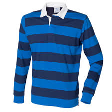 new front row mens slim fit casual striped cotton rugby shirt 3