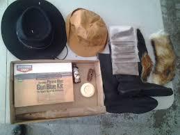 perma gun bluing kit black squirrel fox tails hats