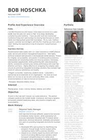 Sample Resume Sales Manager