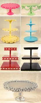 DIY Cake Stands – I Love To Cook