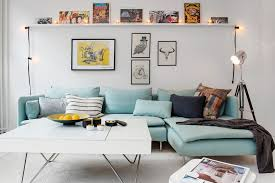 Teal Walls Grey Carpet And Brown Living Room Home Decor