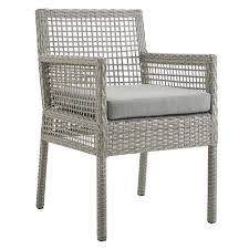 Modway Aura Outdoor Patio Wicker Rattan Dining Armchair In Gray Gray Modway Endeavor Outdoor Patio Wicker Rattan Ding Armchair Hospality Kenya Chair In Black Desk Chairs Byron Setting Aura Fniture Excellent For Any Rooms Bar Harbor Arm Model Bhscwa From Spice Island Kubu Set Of 2 Hot Item Hotel Home Office Modern Garden J5881 Dark Leg