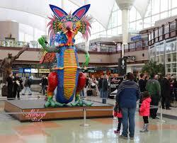 Denver International Airport Murals by The Art U0026 Culture Program At Denver International Airport Dia Is