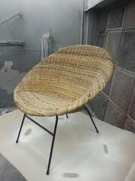 Cheap Saucer Chairs For Adults by Newly Restored Rattan Saucer Chair Caning Rush Wicker