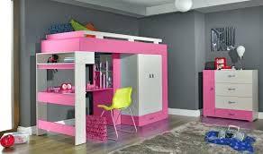 chambre enfant avec bureau lit mezzanine bureau ado lit mezzanine enfant fille merveilleux