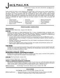 New Nurse Resume Samples Sample Nurses Format Staff