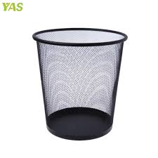 poubelle bureau metal mesh poubelle ronde poubelle recyclage bin bureau outils